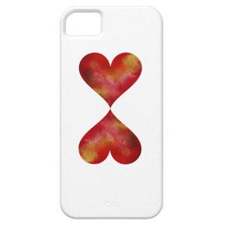 Se d'iPhone de coeur + iPhone 5/5S, à peine là Coque iPhone 5