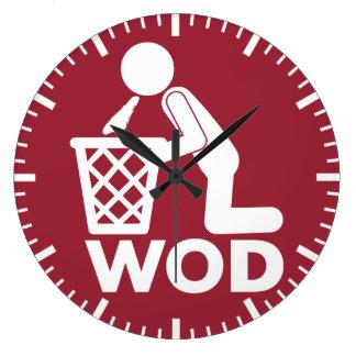 Séance d'entraînement de forme physique de WOD - Grande Horloge Ronde