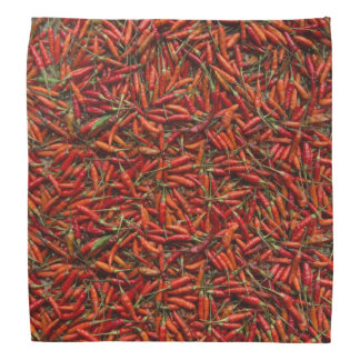 Séchage de Red Hot Chili Peppers Bandanas