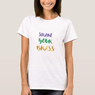 Secouez votre laiton, T-shirt du mardi gras des