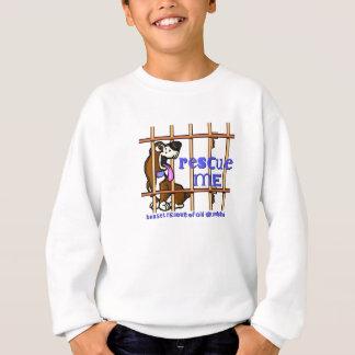Secourez-moi sweatshirt d'enfants