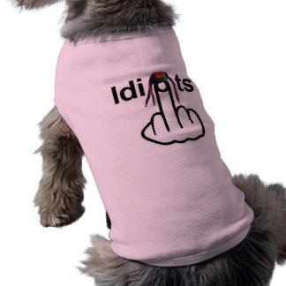 Secousse d'idiots d'habillement de chien vêtements pour animaux domestiques
