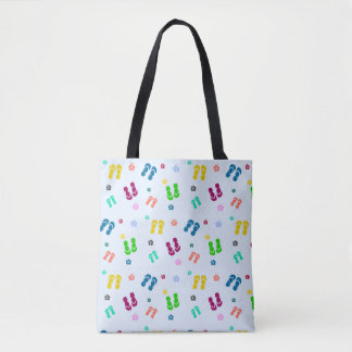 secousses d'arc-en-ciel tote bag
