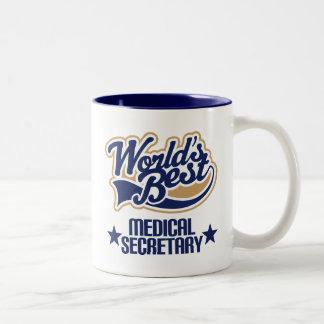 Secrétaire médical Gift (mondes meilleurs) Mug
