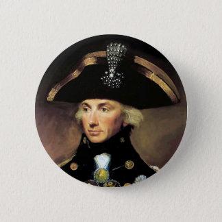 Seigneur Horatio Nelson Badge Rond 5 Cm