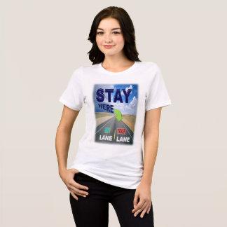 Séjour dans votre T-shirt de ruelle