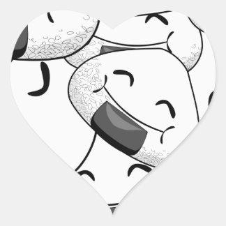 Séjour près de moi - amical sticker cœur