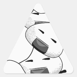 Séjour près de moi - douleur sticker triangulaire