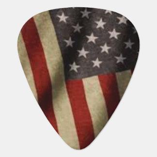 Sélection de drapeau américain onglet de guitare
