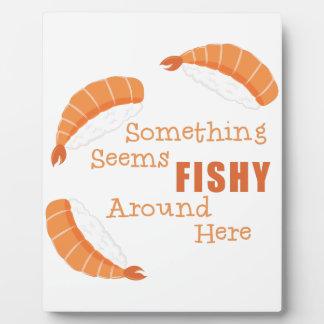 Semble de poisson photos sur plaques