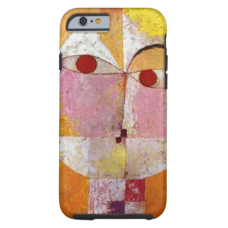 Senecio de Paul Klee peignant le cas dur de Coque Tough iPhone 6