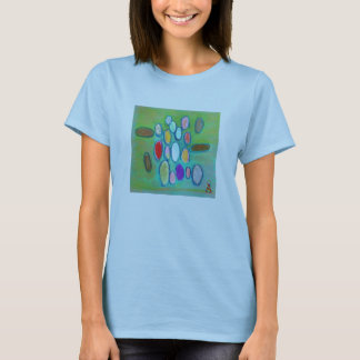 Sensibilisation sur l'autisme de médias mélangés t-shirt