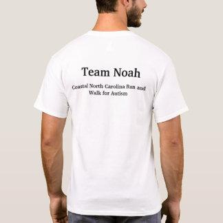Sensibilisation sur l'autisme de Noé d'équipe T-shirt