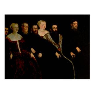 Sept membres de la famille de Soranzo Carte Postale