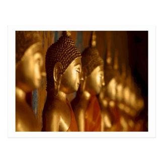 Sérénité de tranquilité de paix de Bouddha Cartes Postales