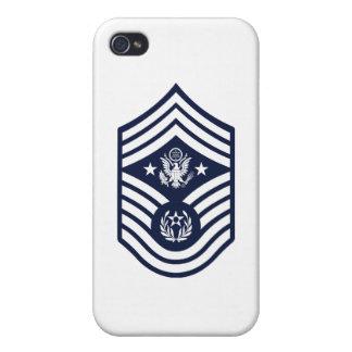 Sergent maître en chef de l'Armée de l'Air E-9 iPhone 4/4S Case