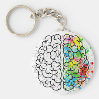 série de cerveau porte-clés