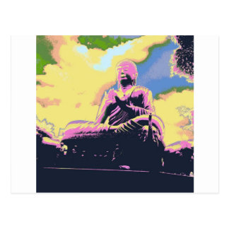Série de Dharma Bouddha Cartes Postales