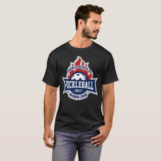 Série du monde de Pickleball - T foncé T-shirt