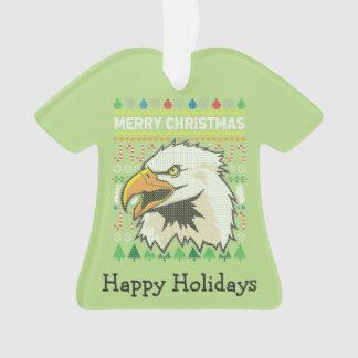 Série laide de faune de chandail de Noël d'Eagle