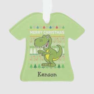 Série laide verte de faune de chandail de Noël de