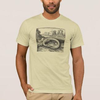 Serpent de Chrysopoeia Ouroboros de Cléopâtre T-shirt