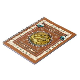 Serpent - page du carnet 80 de transmutation