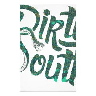 Serpents du sud sales papier à lettre