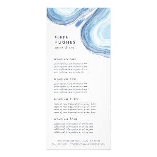 Services de Geode   de vague ou listes des prix Carte Double