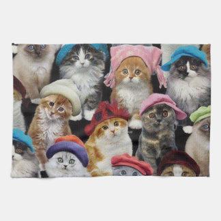 Serviette de cuisine d'amoureux de les chats