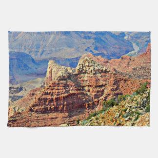 Serviette de cuisine de paysage de canyon grand