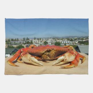 Serviette de cuisine fraîche de crabe !