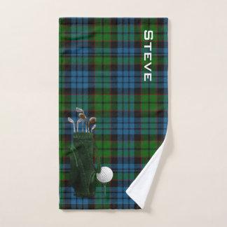 Serviette de golf de plaid de Fletcher