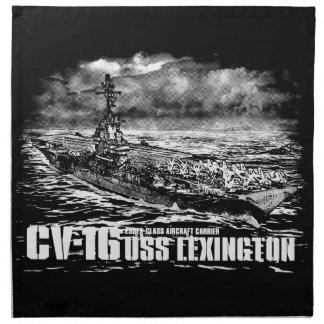 Serviette de Lexington Dawsonsf de porte-avions