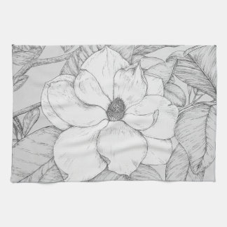 Serviette de magnolia