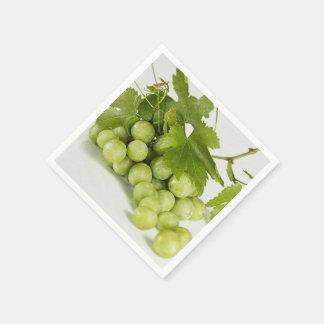 Serviette de papier standard de raisins verts serviettes jetables