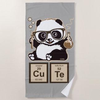 Serviette De Plage Mignon découvert par panda de chimie