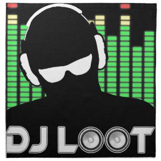 Serviette de tissu de butin du DJ