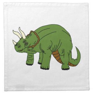 Serviette de Triceratops