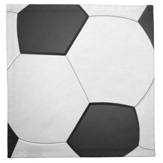 Serviette d'illustration du football de ballon de