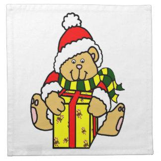 Serviette d'ours de Noël