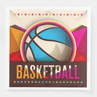 Serviette En Papier Abrégé sur cool de jeu de boule de sport de