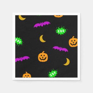 Serviette En Papier Amusement Halloween