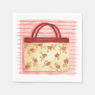 Serviette En Papier Bourse florale - serviettes de papier