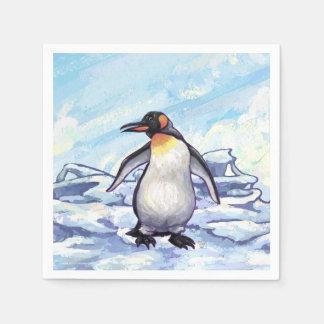 Serviette En Papier Cadeaux et accessoires de pingouin