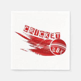 Serviette En Papier Cricket Sixer