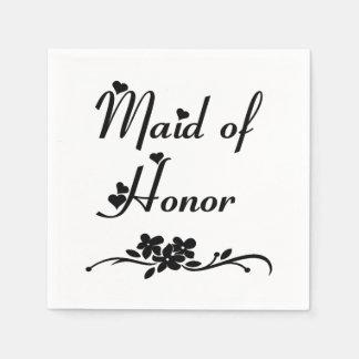 Serviette En Papier Domestique d'honneur classique