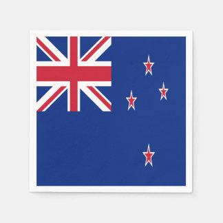 Serviette En Papier Drapeau de la Nouvelle Zélande