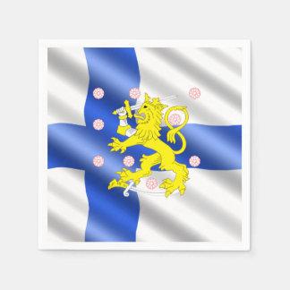 Serviette En Papier Drapeau finlandais