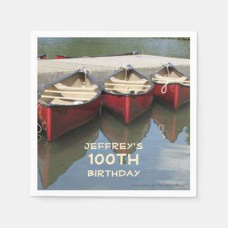 Serviette En Papier Fête d'anniversaire de serviettes de papier, 100th